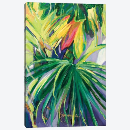 Jardin Abstracto II Canvas Print #SMW5} by Suzanne Wilkins Canvas Wall Art