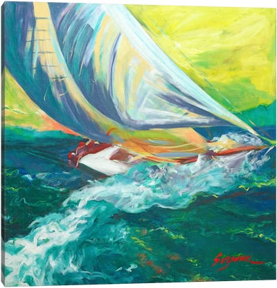 Regatta Colores Canvas Art Print