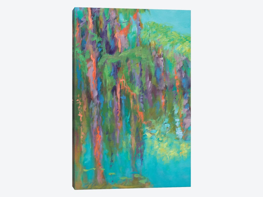 Rios de Colores I by Suzanne Wilkins 1-piece Canvas Artwork
