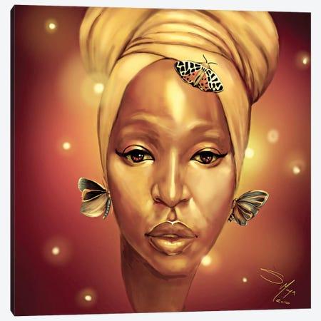 Law Of Attraction Canvas Print #SMY10} by Sheeba Maya Canvas Art