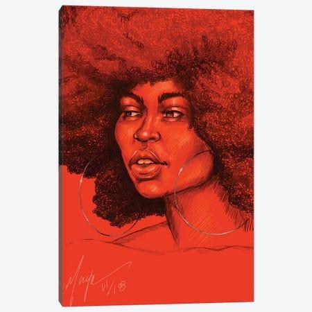 Neema Canvas Print #SMY11} by Sheeba Maya Canvas Art