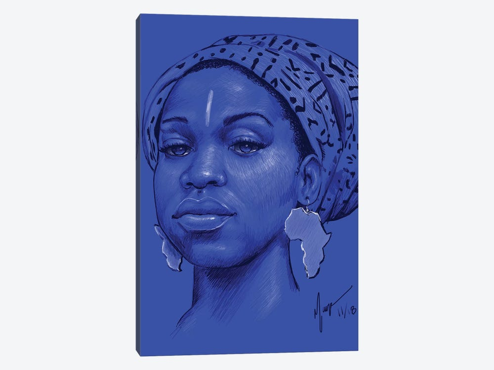 Ola by Sheeba Maya 1-piece Art Print
