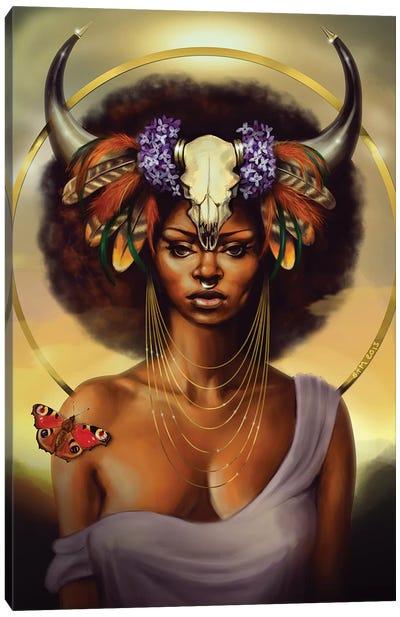 Taurus Canvas Art Print