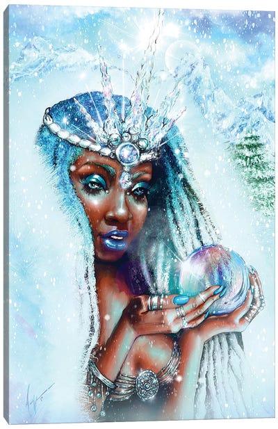 Winter Goddess Canvas Art Print