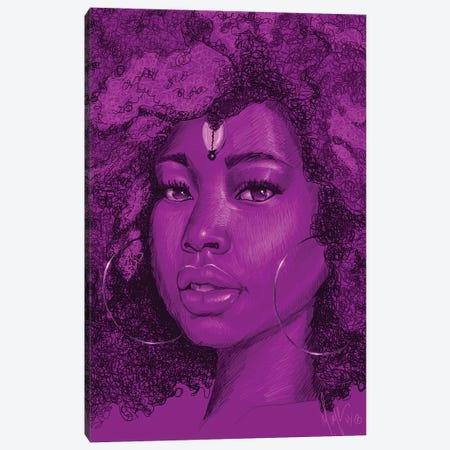 Aya Canvas Print #SMY2} by Sheeba Maya Canvas Art Print