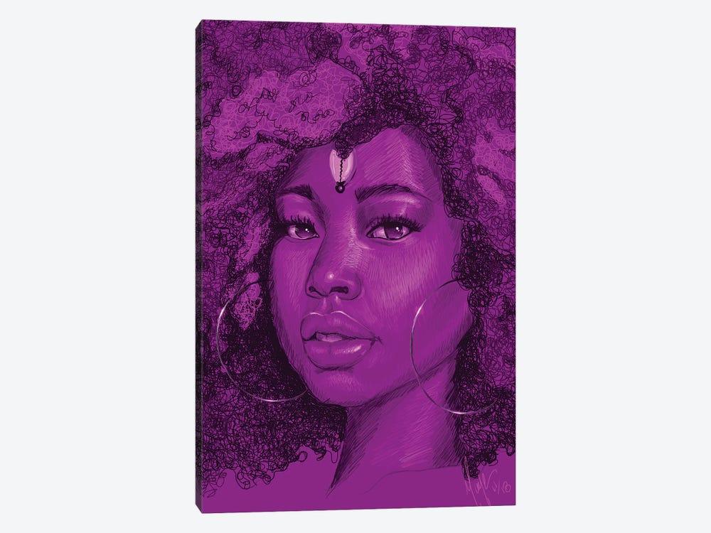 Aya by Sheeba Maya 1-piece Canvas Print