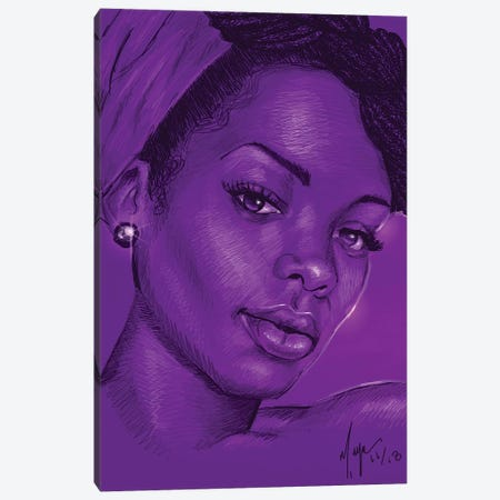 Eleyi Ti Ina Canvas Print #SMY4} by Sheeba Maya Canvas Art