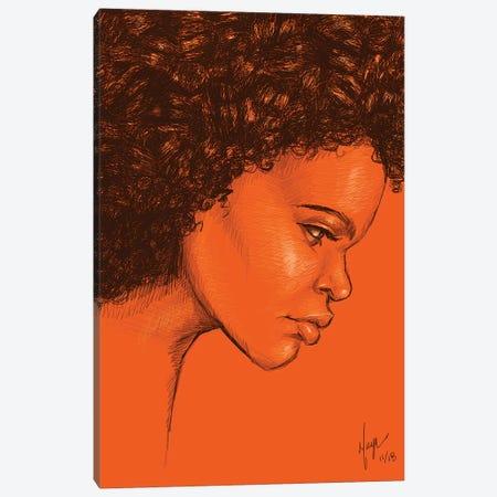 Khweza Canvas Print #SMY8} by Sheeba Maya Canvas Print