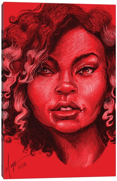 Kwa Shauku Canvas Art Print