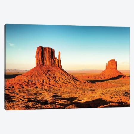 Monument Valley National Park Near Sunset Canvas Print #SMZ102} by Susan Schmitz Canvas Print