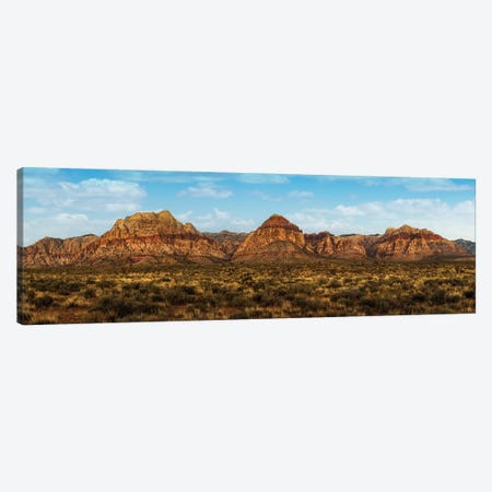 Mountain Range In Red Rock Canyon Nevada Canvas Print #SMZ106} by Susan Schmitz Canvas Art