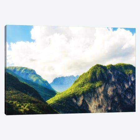 Peaks In Italian Alps II Canvas Print #SMZ116} by Susan Schmitz Canvas Art Print
