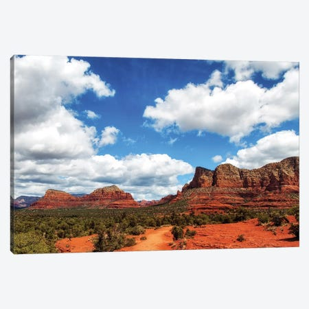 Red Rock Buttes In Sedona Arizona USA Canvas Print #SMZ124} by Susan Schmitz Canvas Wall Art