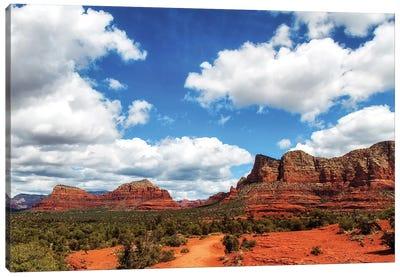Red Rock Buttes In Sedona Arizona USA Canvas Art Print
