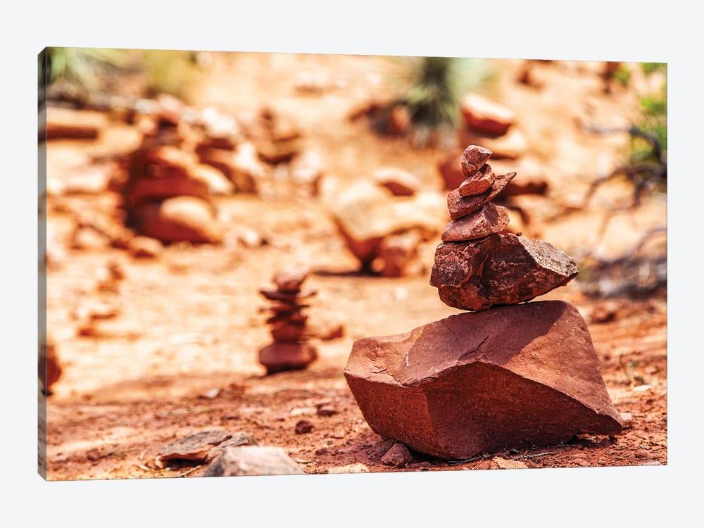 Rock Pile At Vortex In Sedona Arizona by Susan Schmitz 1-piece Art Print