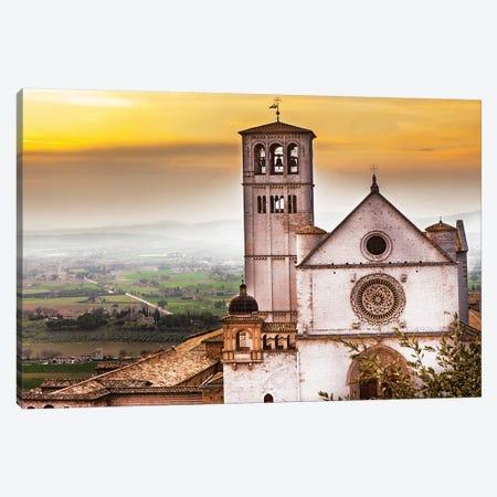 St Francis Of Assisi Church At Sunrise Canvas Print #SMZ148} by Susan Schmitz Canvas Print