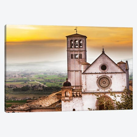 St Francis Of Assisi Church At Sunrise Canvas Print #SMZ148} by Susan Schmitz Canvas Print