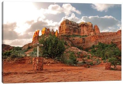 Cathedral Rock Hiking Trail In Sedona Arizona Canvas Art Print