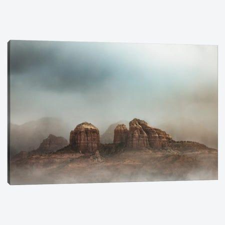 Magical Scene Of Castle Rock In Sedona Arizona Canvas Print #SMZ218} by Susan Schmitz Art Print