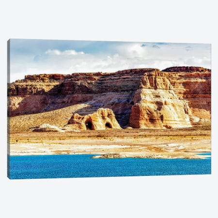 Coves On Shore Of Lake Powell Canvas Print #SMZ51} by Susan Schmitz Art Print