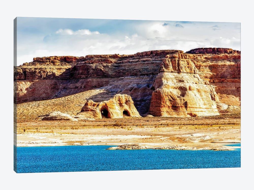 Coves On Shore Of Lake Powell by Susan Schmitz 1-piece Canvas Wall Art