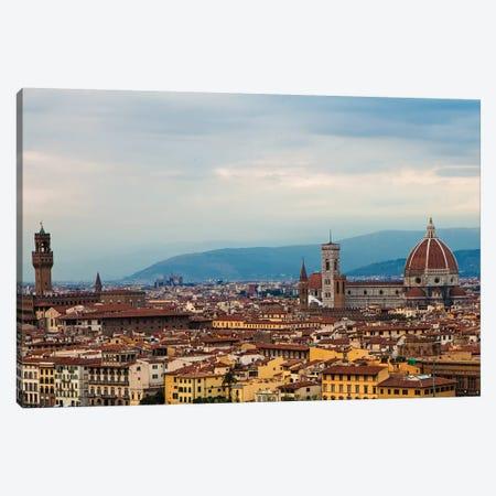 Florence Italy Cityscape Canvas Print #SMZ70} by Susan Schmitz Canvas Print