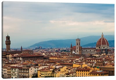 Florence Italy Cityscape Canvas Art Print