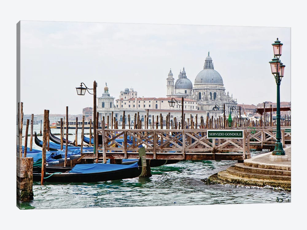 Gondola Station In Venice by Susan Schmitz 1-piece Canvas Print