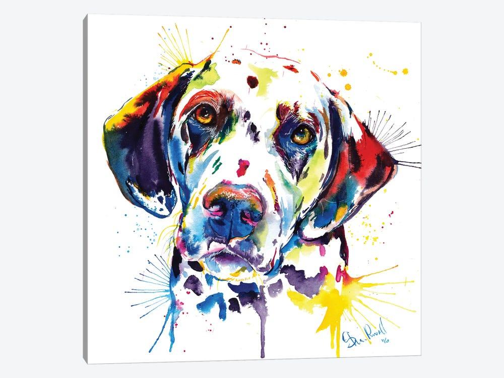 Dalmatian by Weekday Best 1-piece Canvas Art Print