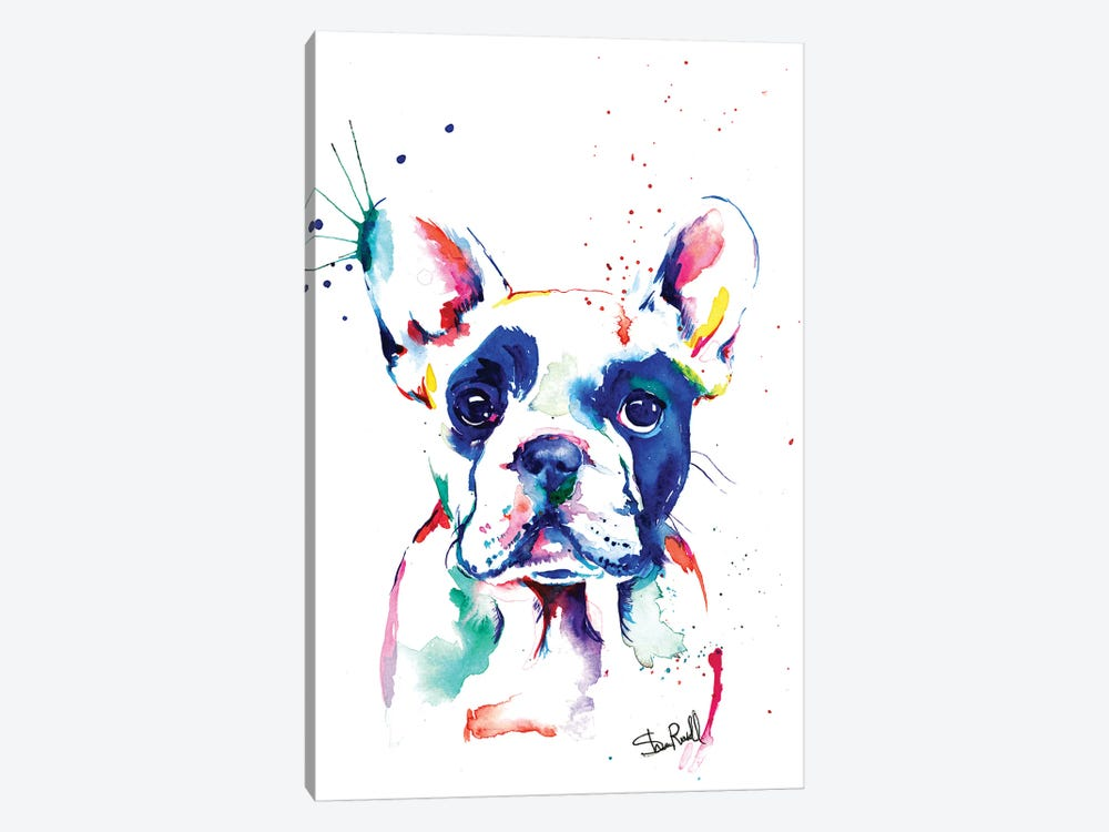 Frenchie I by Weekday Best 1-piece Canvas Artwork
