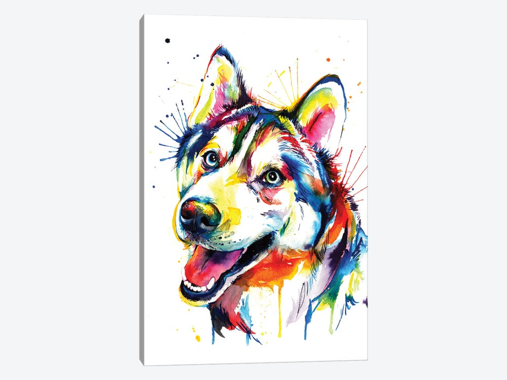 Husky by Weekday Best 1-piece Canvas Art