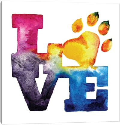 Pet Love Canvas Art Print