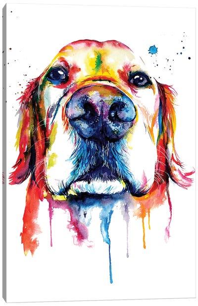 Retriever Canvas Art Print