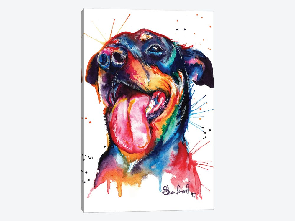 Rottie by Weekday Best 1-piece Canvas Print