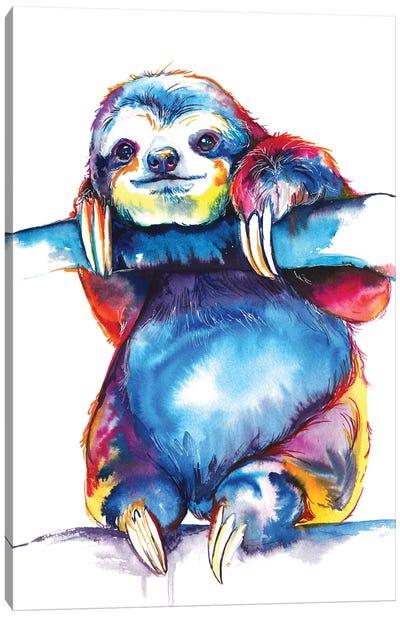 Sloth Canvas Art Print