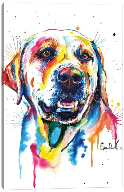 Yellow Lab II Canvas Art Print
