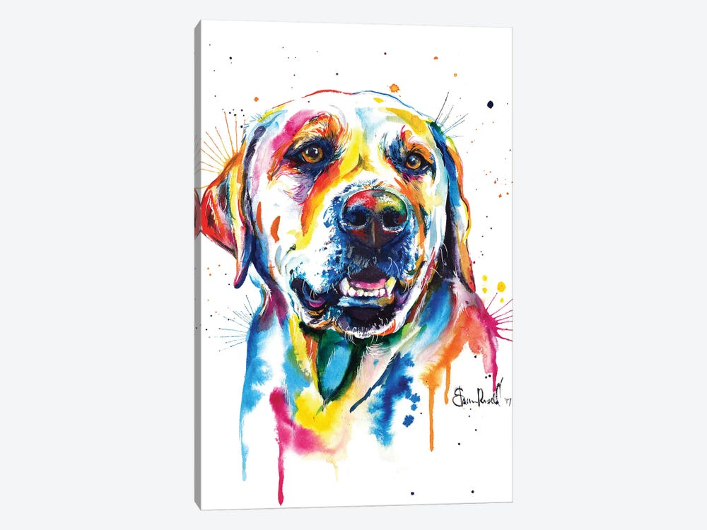 Yellow Lab II by Weekday Best 1-piece Art Print