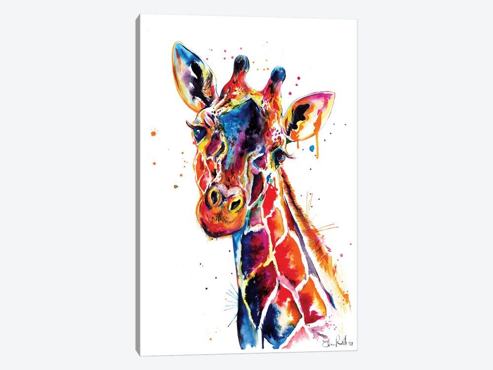Giraffe by Weekday Best 1-piece Canvas Art Print