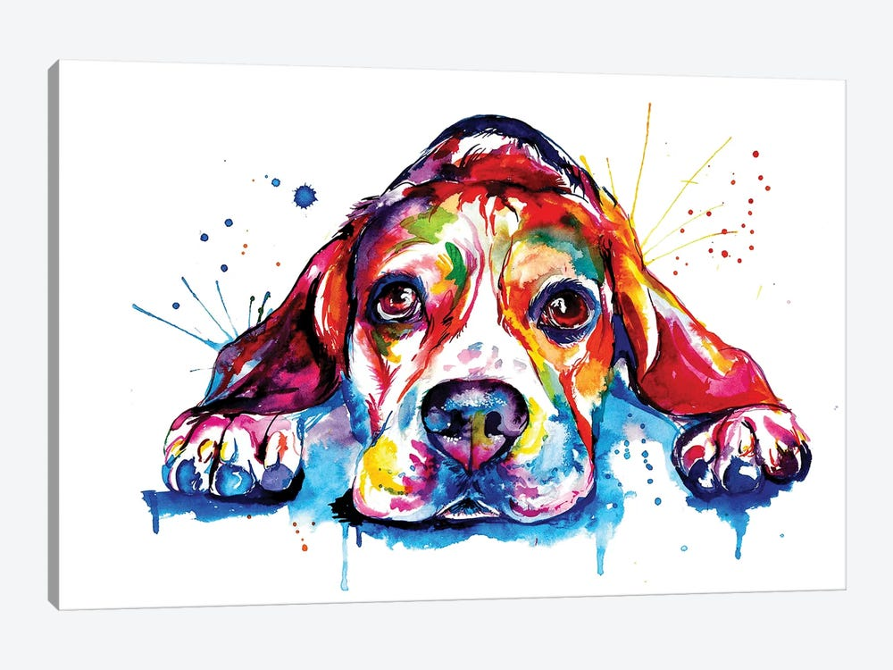 Beagle by Weekday Best 1-piece Art Print
