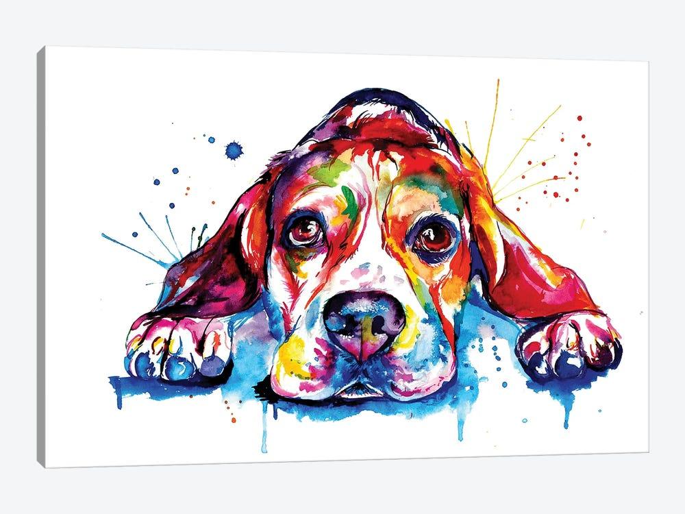 Beagle by Weekday Best 1-piece Art Print