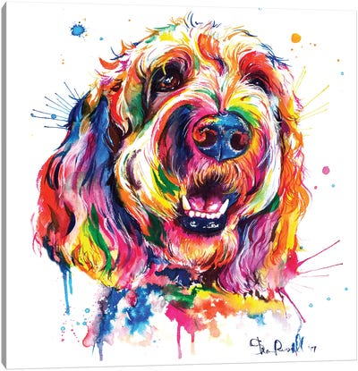 Goldendoodle Canvas Art Print