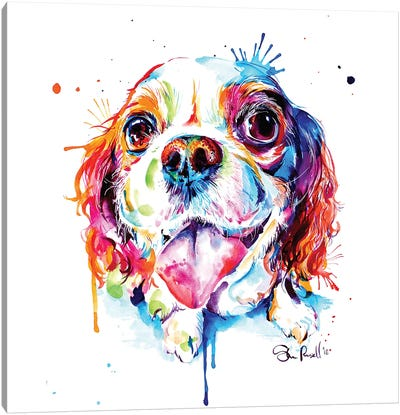Cavalier King Charles Spaniel Canvas Art Print