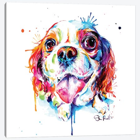 Cavalier King Charles Spaniel Canvas Print #SNA42} by Weekday Best Canvas Art Print