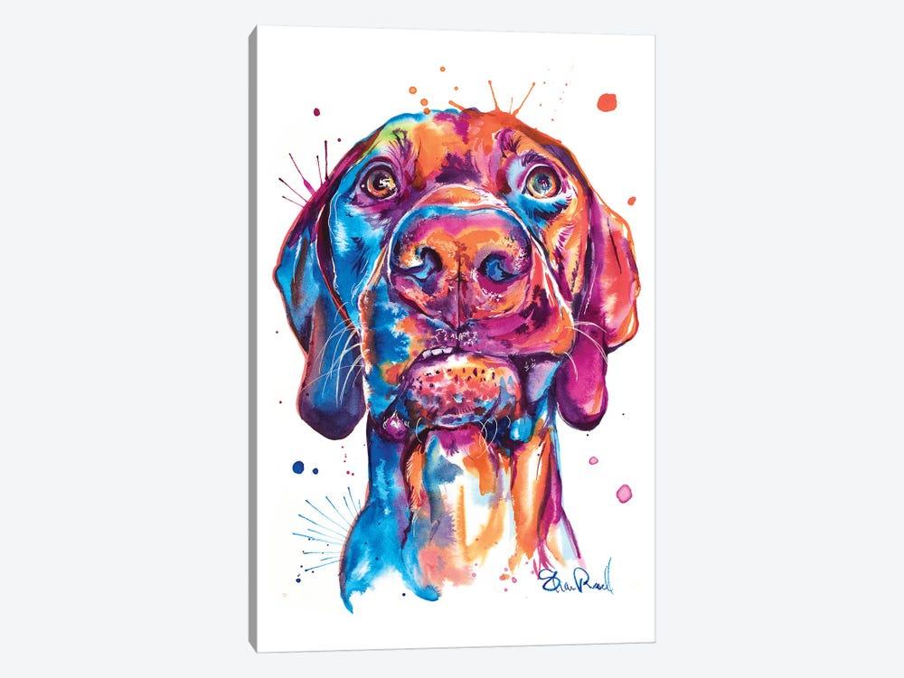 Vizsla by Weekday Best 1-piece Canvas Art Print