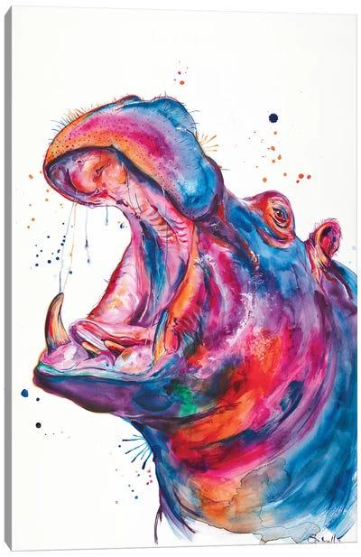 Hip Hip Hooray Canvas Art Print