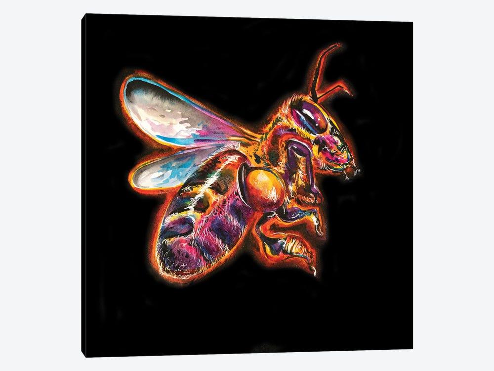 Honey Bee by Weekday Best 1-piece Canvas Artwork