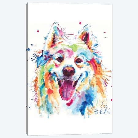 Samoyed Canvas Print #SNA55} by Weekday Best Art Print