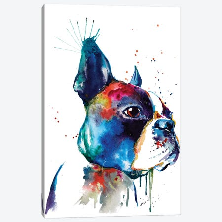 Boston Canvas Print #SNA6} by Weekday Best Canvas Artwork