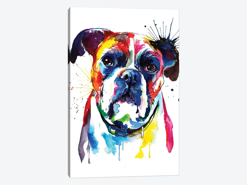 Boxer by Weekday Best 1-piece Canvas Artwork
