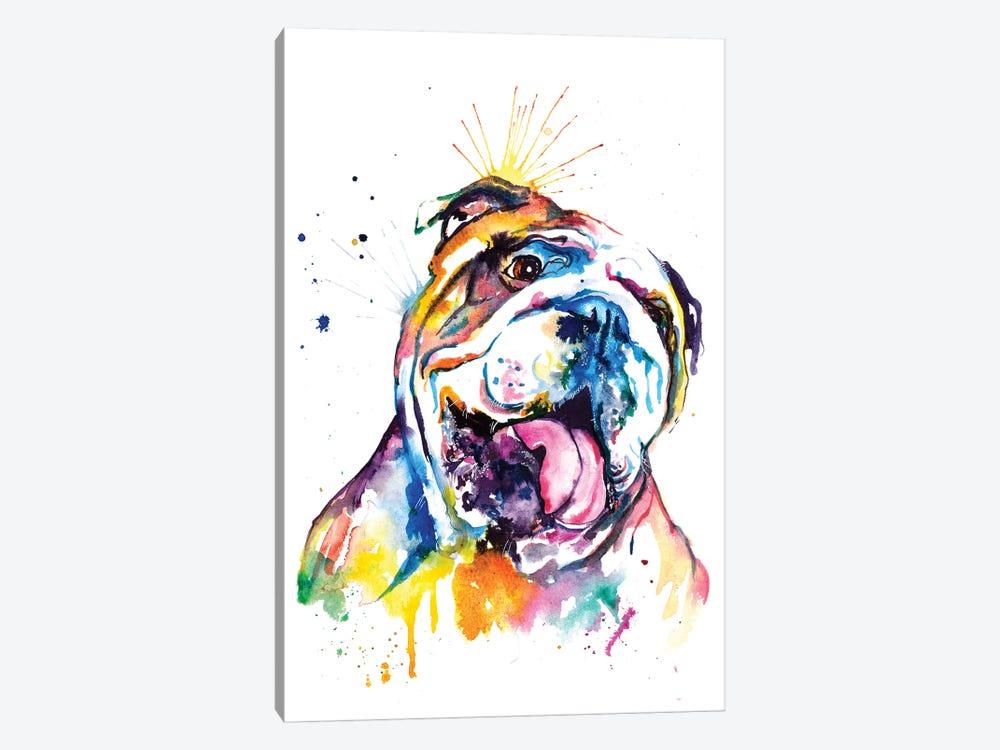 Bulldog by Weekday Best 1-piece Canvas Art Print